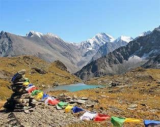 йога-тур к подножию Белухи