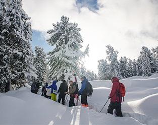 Семинский перевал снегоступы