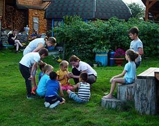 Детский тур по Алтаю