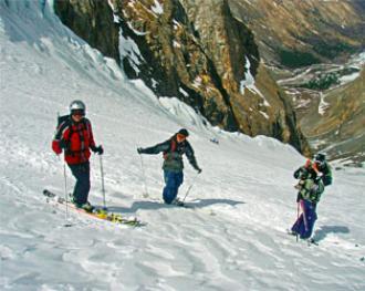 Ски-туры в Актру