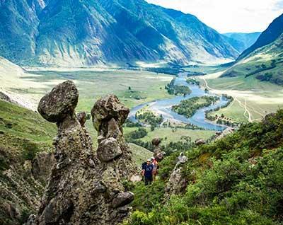 Каменные грибы в Чулышмане